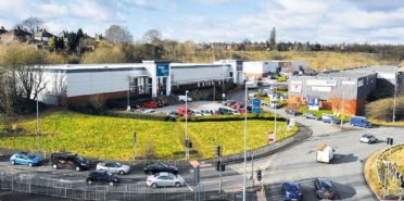 retail & trade park investment in Etruria Retail & Trade Park, Newcastle under Lyme