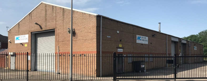 UNIT G&H, HOBART ROAD, TIPTON - acquisition of a single let industrial investment