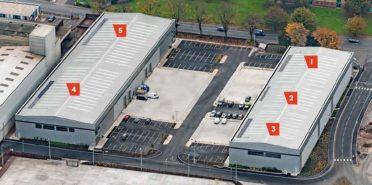 multi-let industrial estate Units 1-5 Vaughan Park, Tipton, Dudley, DY4 7UJ