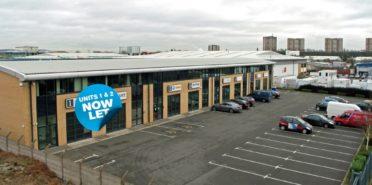 Sale of a modern industrial/trade estate on Avenue Terrace, Avenue Road, Aston, Birmingham, B6 4DY